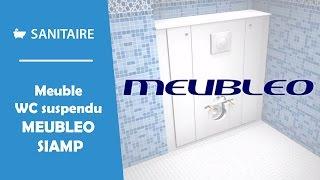 meuble pour wc suspendu meubleo siamp
