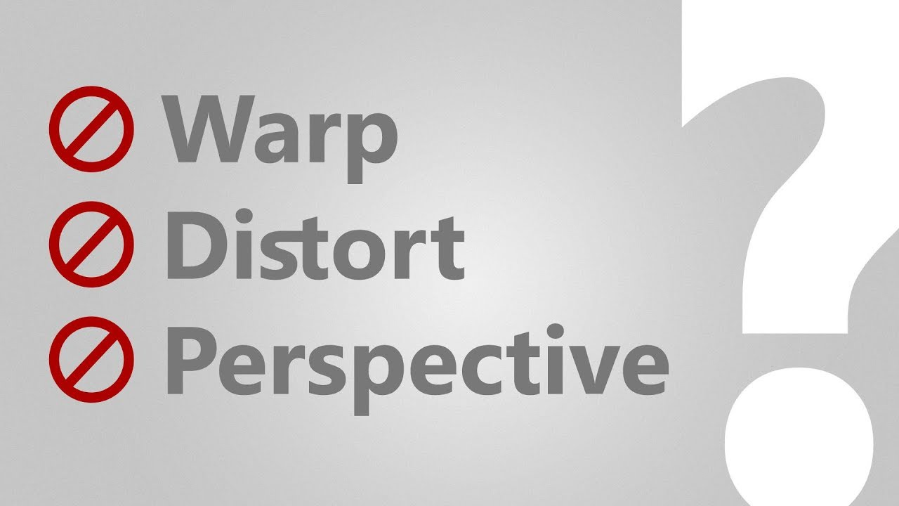 Can't Warp or Distort Smart Object (SOLVED!) | Photoshop