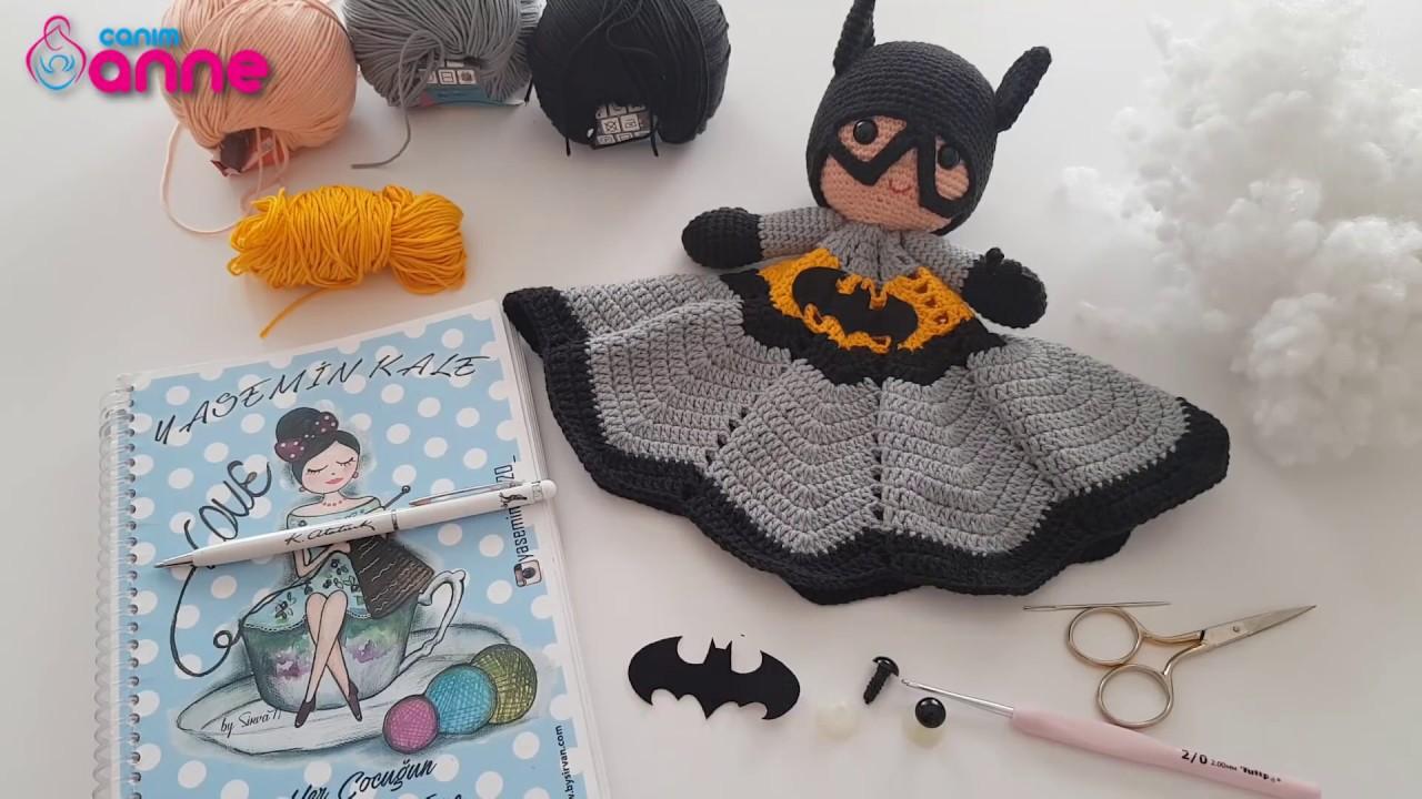 Crochet Batman paso a paso: Amigurumi con receta - Creatividad ... | 720x1280