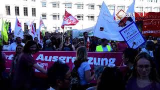 Unteilbar-Demo: Mehr als 240.000 Demonstranten in Berlin