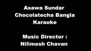 Download Hindi Video Songs - Marathi Balgeet - Chocolate Cha Bangla - Karaoke