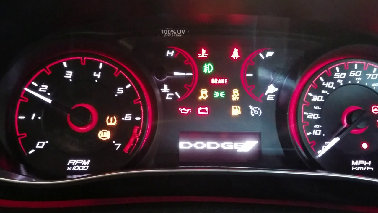 Dodge Dart And Most Chrysler Oil Life Reset