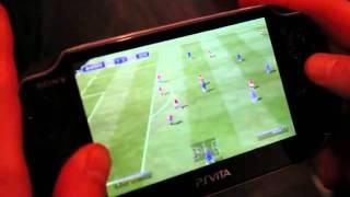 PS Vita - Fifa 12 gameplay and comentary