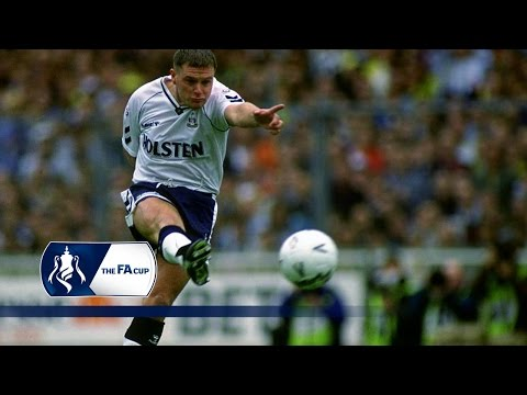 Gazza's FA Cup free-kick against Arsenal