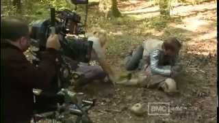 """The Walking Dead"" Making of (Detrás de cámaras)"