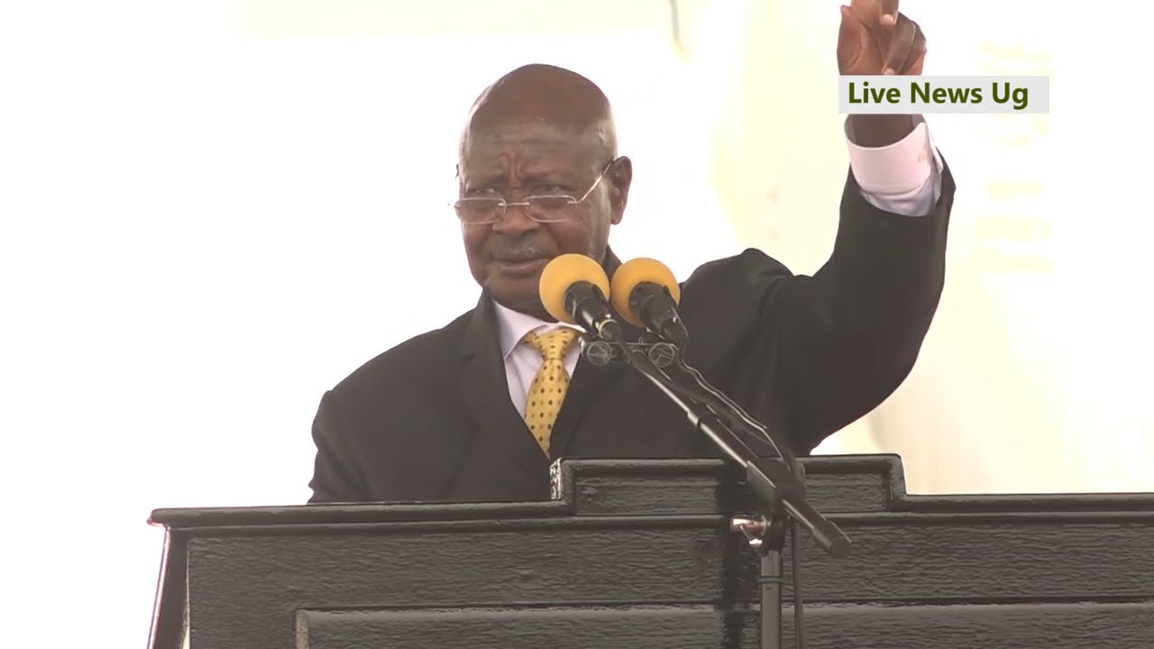 President Museveni is not worried of the downfall of Gaddafi, says he defeated idiots in Somalia