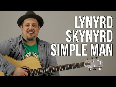 Simple Man - Lynyrd Skynyrd - Guitar Lesson - How to Play on guitar - Tutorial