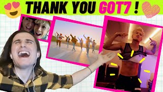 First Reaction to GOT7 (갓세븐) - Hard Carry + Fly + You Are + …