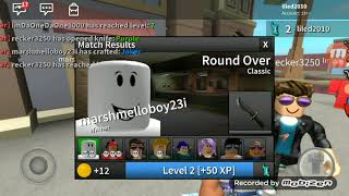 Me and Waterville Osco playing Roblox in Assassin