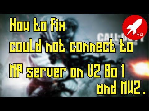 how to fix mw2 connecting to matchmaking server
