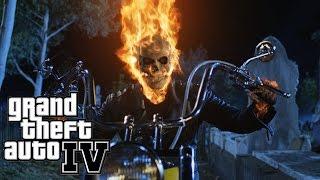 Gta 4 - Mods - Motoqueiro Fantasma! INSANO! (Ghost Rider)
