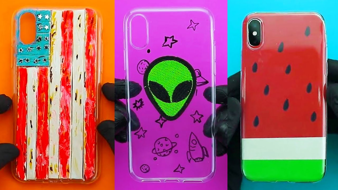 13 Easy Diy Phone Cases Diy Painting On Phone Cases Youtube