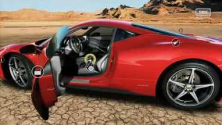 "E3 2010 Forza Motorsport Xbox 360 Kinect Gameplay Demo ""Ferrari Test Drive"" [HD] [DoS Games]"