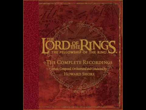 The Lord of the Rings: The Fellowship of the Ring Soundtrack - 16. Amon Hen