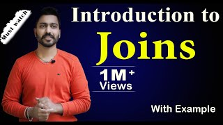 Introduction to Joins and its types | Need of Joins with example | DBMS