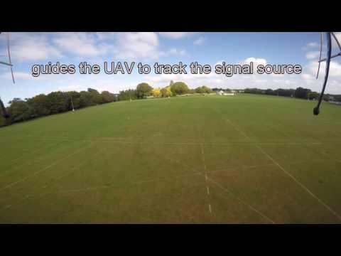 Radio Tracking by UAV