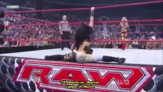 Sunset Split: WWE Melina Split Entrances