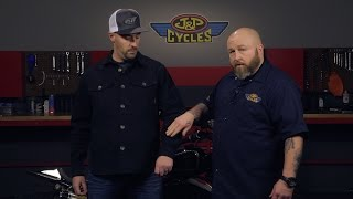 Roland Sands Design Newcombe Men's Black or Military Green Canvas Jacket at J&P Cycles