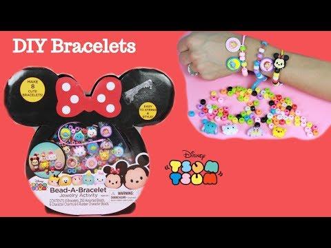 DIY Tsum Tsum Bracelets Disney Characters Jewelry Activity Set