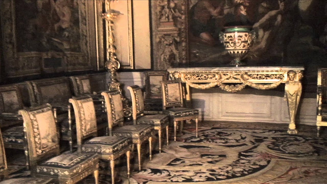 Inside The Palace Of Fontainebleau Fontainebleau France