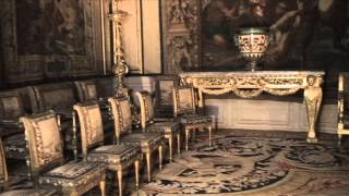 Inside the Palace of Fontainebleau, Fontainebleau, France
