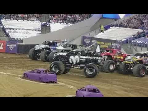 Monster Jam Jacksonville Fl, 2018 Racing.