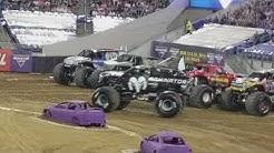 Monster Jam Jacksonville Fl, 2018 Racing.