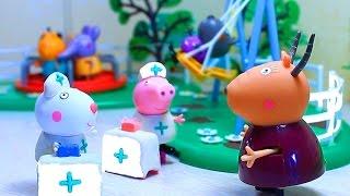 Сьюзи и Пеппа Играют с Игрушечным набором Play - Doh - Мистер Зубастик. Обзор Игрушки