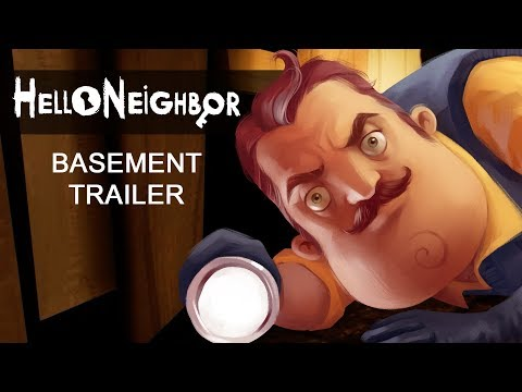 Hello Neighbor Basement Trailer