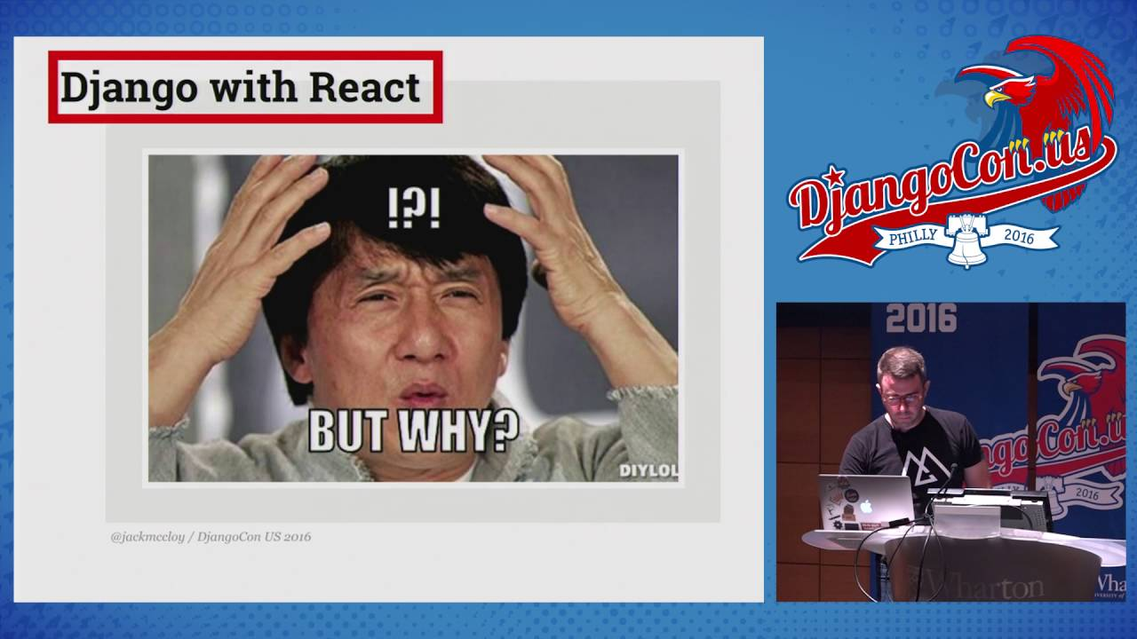Image from Django and React: Perfect Together