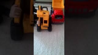 Pilsan kamyon ve excavator