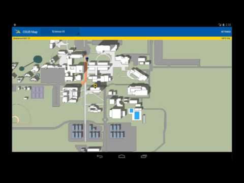 Csu Bakersfield Campus Map.Android Csub Campus Map Youtube