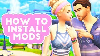 HOW TO DOWNLOAD MODS AND CUSTOM CONTENT // THE SIMS 4 – TUTORIAL