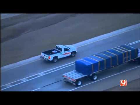 FULL:  SkyNews 9 High Speed Chase in Oklahoma City, OK  January 7, 2016