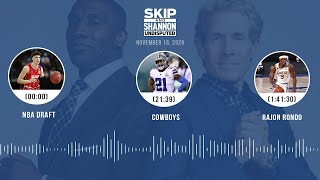 NBA Draft, Cowboys, Rajon Rondo (11.18.20) | UNDISPUTED Audio Podcast