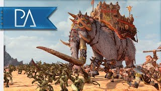 A STAMPEDE OF MAMMOTHS - 3v3 Battle - Total War: Warhammer