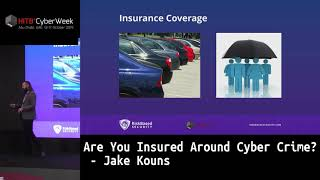 #HITBCyberWeek #CommSec HIGHLIGHT - Are You Insured Around Cyber Crime? - Jake Kouns