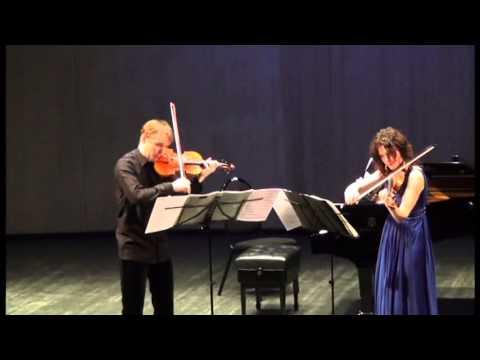 Ysaye|Sonata for two violins|Nikita Boriso-Glebsky  - Julia Igonina