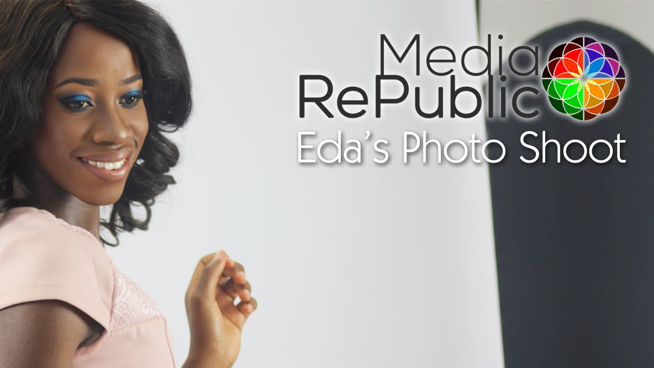 Eda's Photo Shoot @ Media Republic