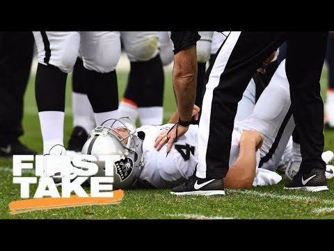 First Take reacts to Derek Carr