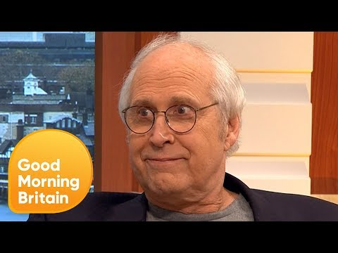 Chevy Chase Calls Donald Trump 'Stupid' | Good Morning Britain