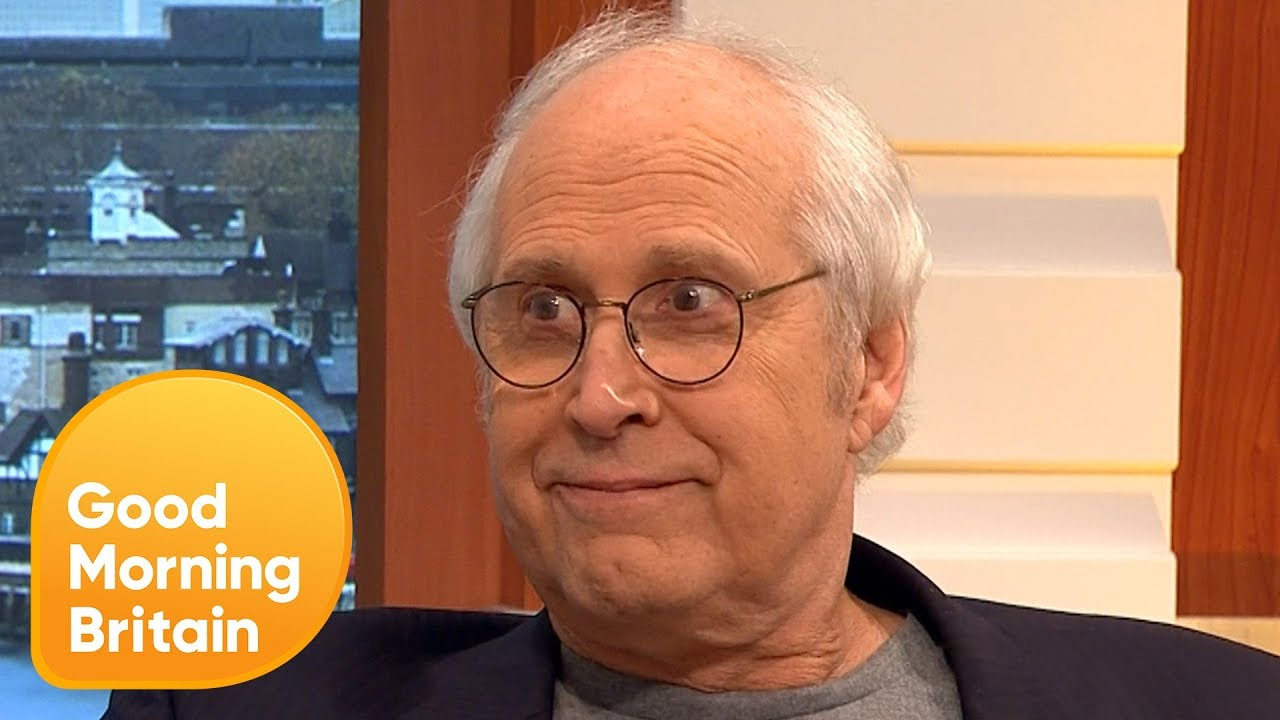 Chevy Chase Calls Donald Trump  Stupid    Good Morning Britain   YouTube Chevy Chase Calls Donald Trump  Stupid    Good Morning Britain