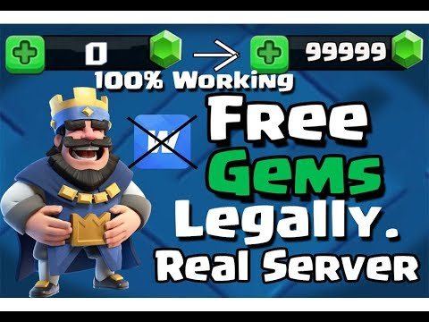 How To Get Free Gems In Clash Royale Legally|100% Working|