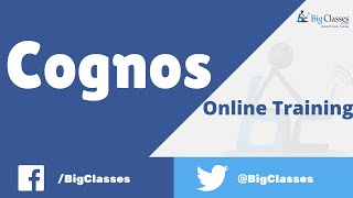 cognos online training   cognos report studio tutorial for beginners