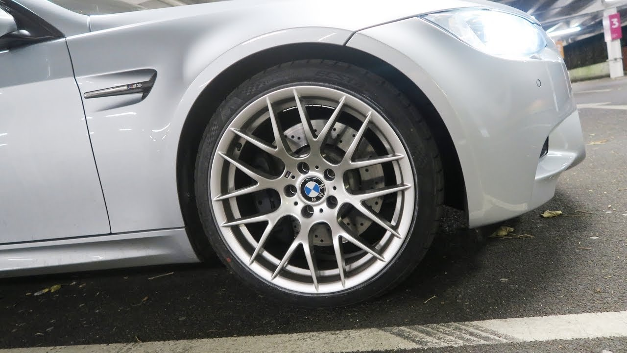 BMW E92 M3 Avant Garde M359 Competition ZCP Style Silver 19