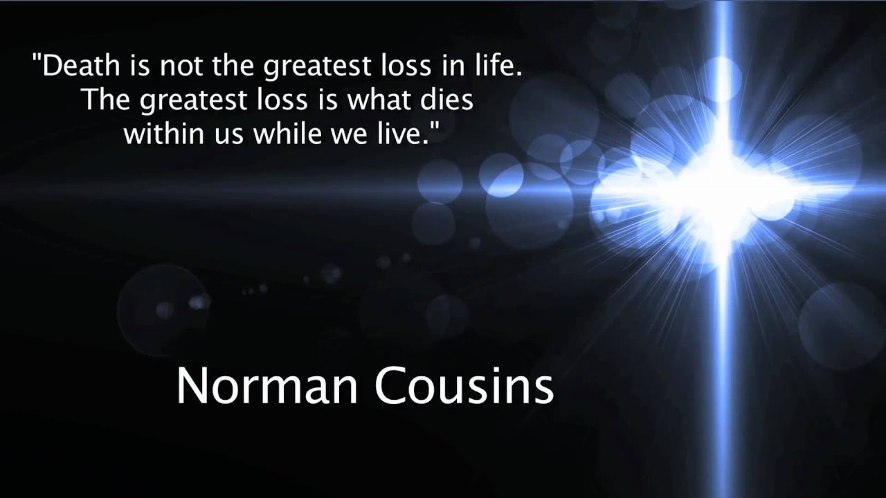 Death And Life Quote