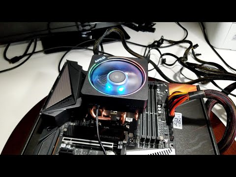 Ryzen 7 3800X Review, Install & Quick Look at Wraith Prism RGB CPU Cooler