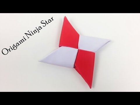 How to Make Easy Ninja Paper Star - DIY Origami Paper Ninja Star (Shuriken) | Simple Daily Origami