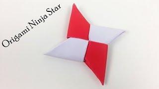 How to Make Easy Ninja Paper Star - DIY Origami Paper Ninja Star (Shuriken) | Simple Daily Origami