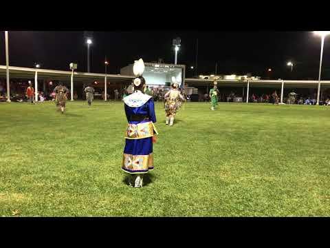 Jr adult women's jingle Prairie Band Potawatomi Powwow 2017